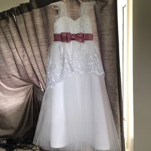 Other - Girls Communion, Pageant, Flower Girl Dress size 5
